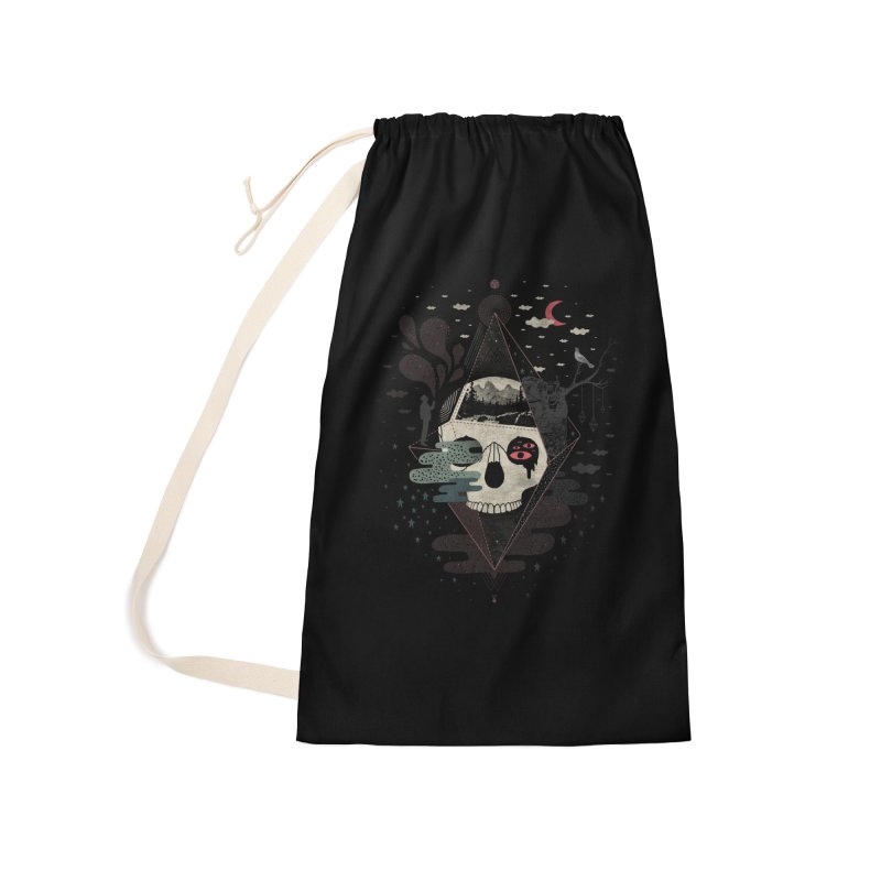 Happy Riddle Accessories Laundry Bag Bag by