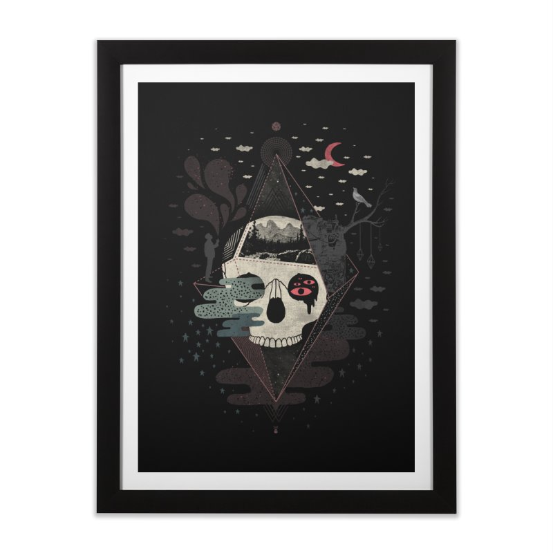 Happy Riddle Home Framed Fine Art Print by ordinary fox