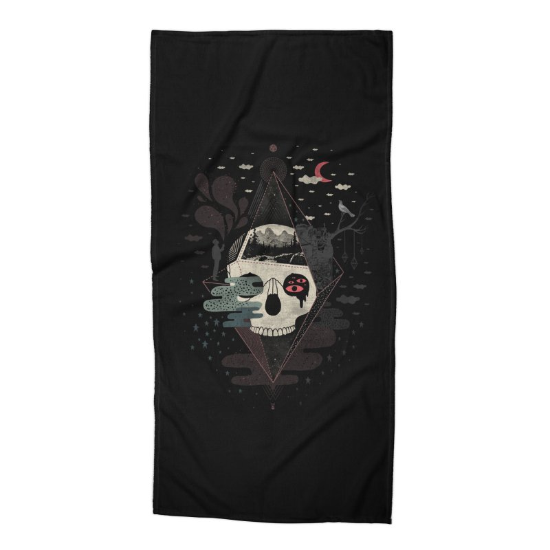 Happy Riddle Accessories Beach Towel by ordinary fox