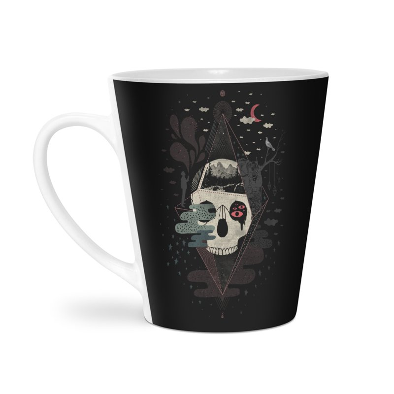 Happy Riddle Accessories Latte Mug by ordinary fox