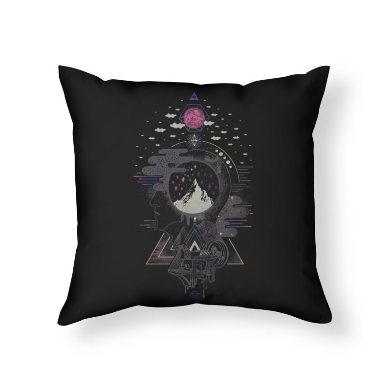 Hyper Dreamer Home Throw Pillow by