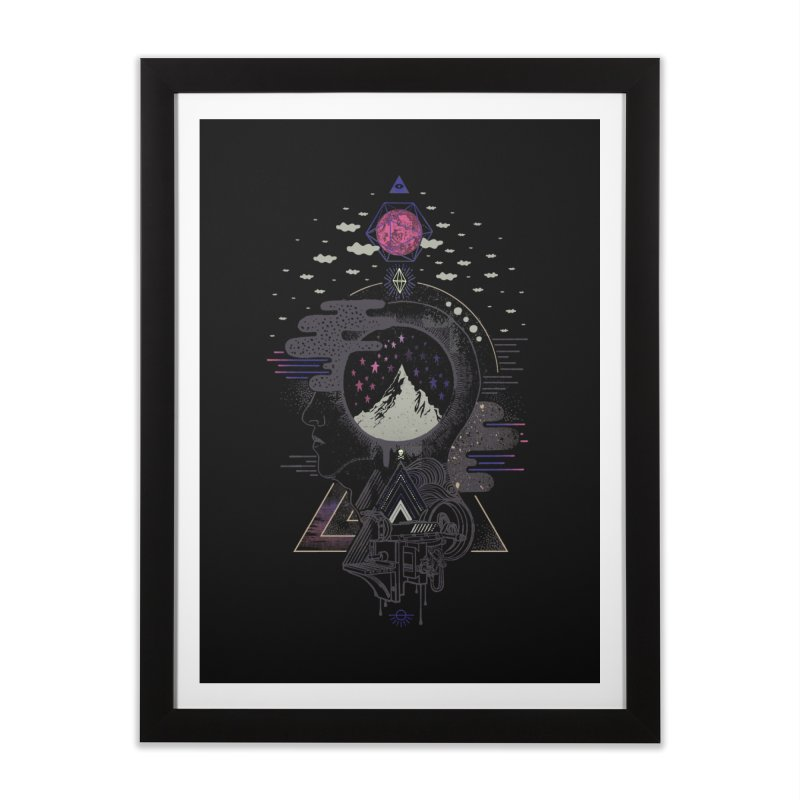 Hyper Dreamer Home Framed Fine Art Print by ordinary fox