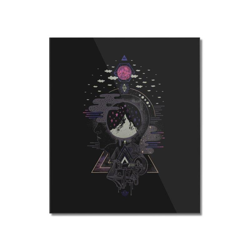 Hyper Dreamer Home Mounted Acrylic Print by ordinary fox