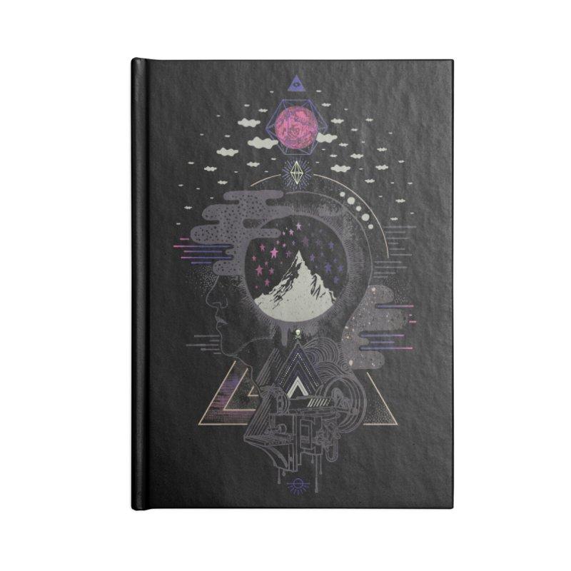 Hyper Dreamer Accessories Blank Journal Notebook by ordinary fox