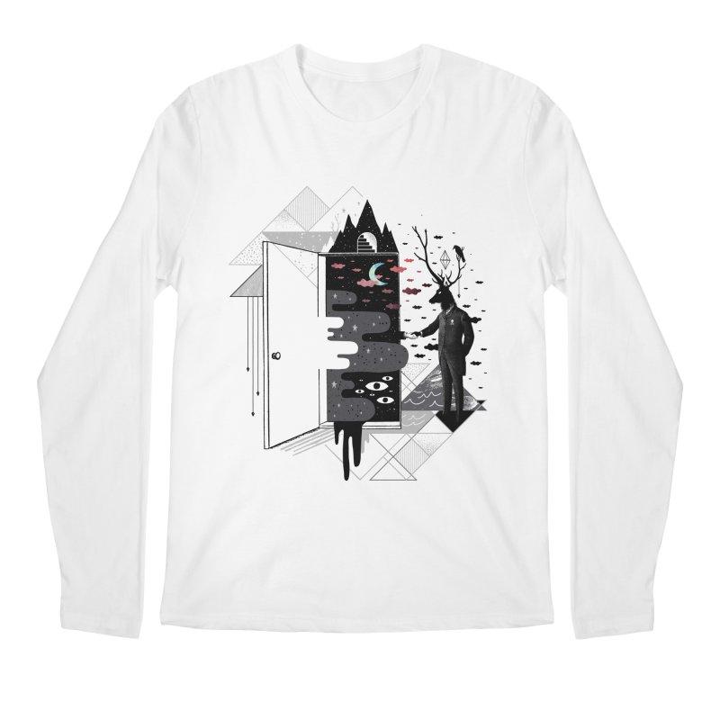 Take it or Dream it Men's Regular Longsleeve T-Shirt by ordinary fox