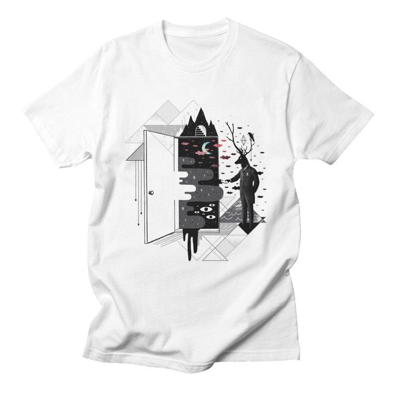 Take it or Dream it Men's Regular T-Shirt by ordinary fox