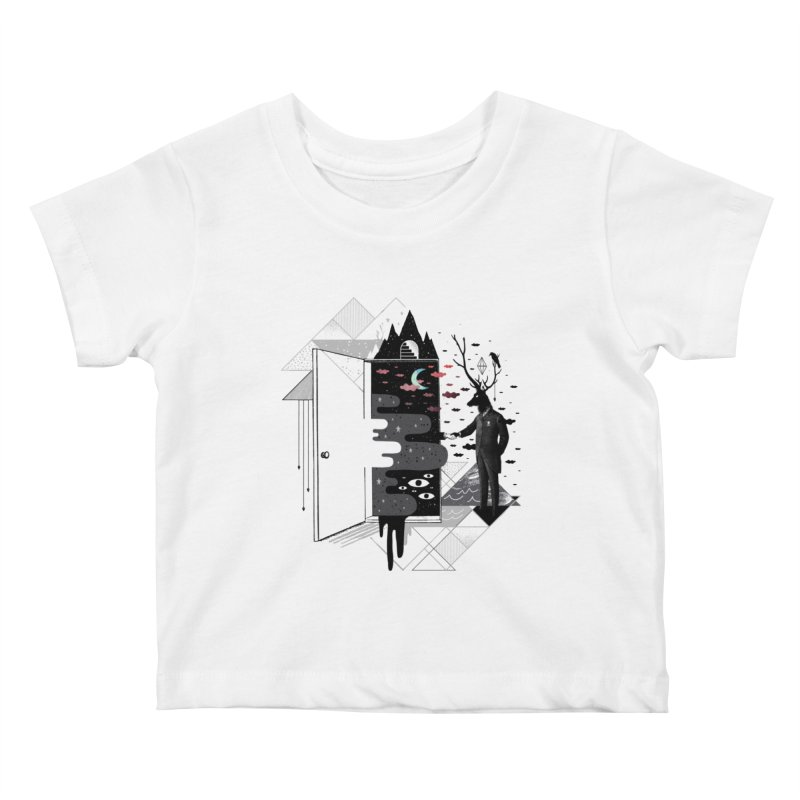 Take it or Dream it Kids Baby T-Shirt by ordinary fox