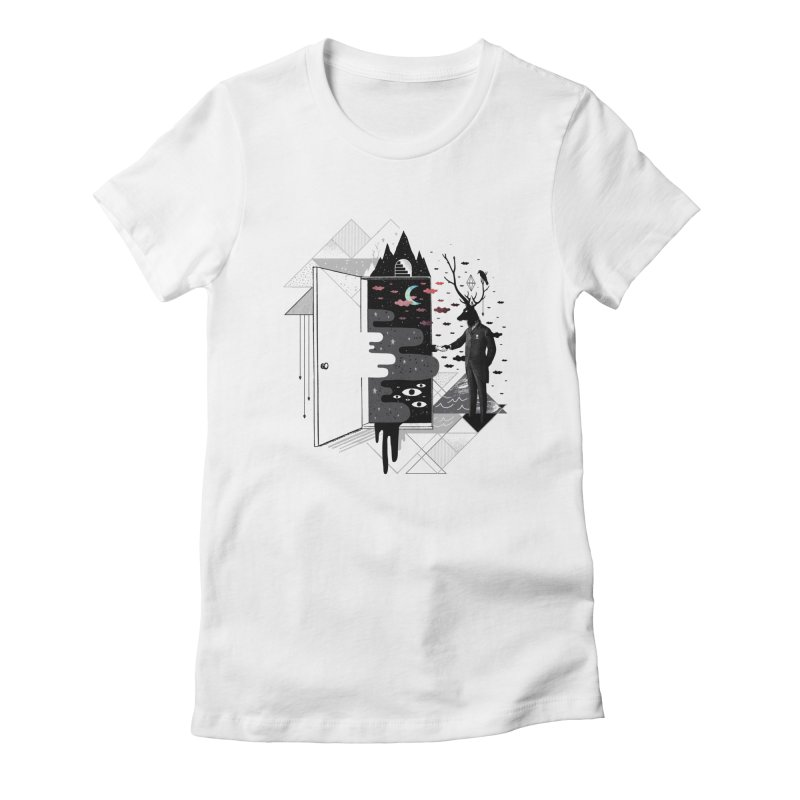 Take it or Dream it Women's Fitted T-Shirt by ordinary fox