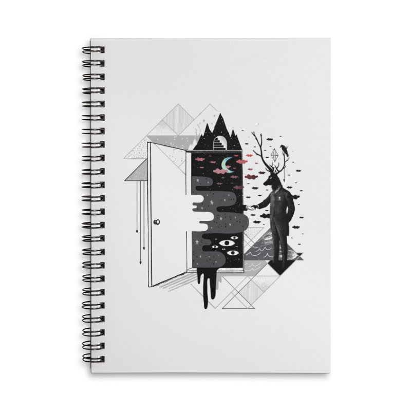 Take it or Dream it Accessories Lined Spiral Notebook by ordinary fox