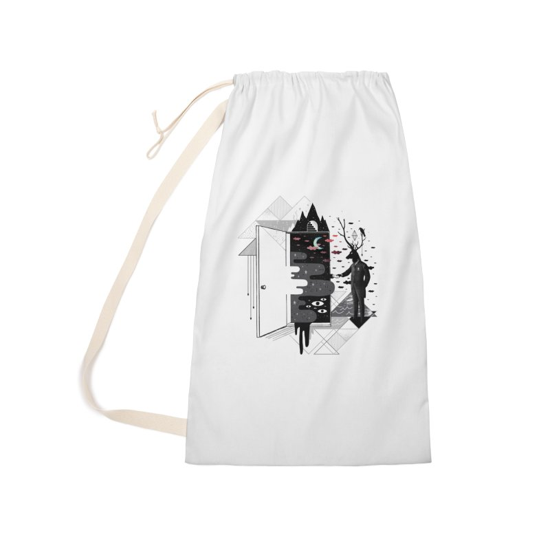 Take it or Dream it Accessories Laundry Bag Bag by ordinary fox