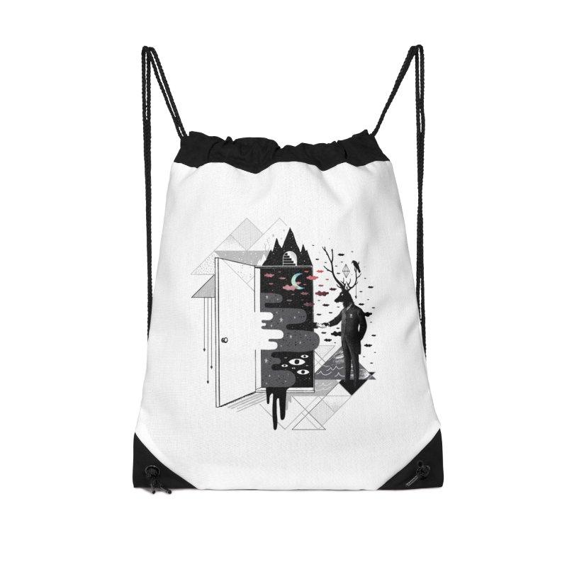 Take it or Dream it Accessories Drawstring Bag Bag by ordinary fox