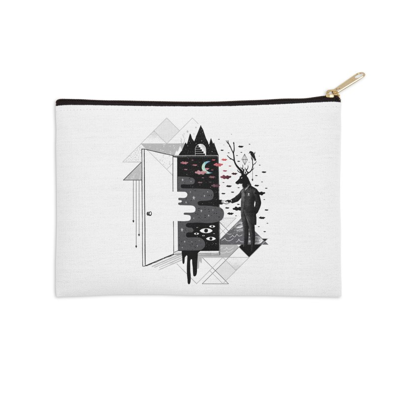Take it or Dream it Accessories Zip Pouch by ordinary fox