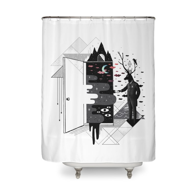 Take it or Dream it Home Shower Curtain by ordinary fox