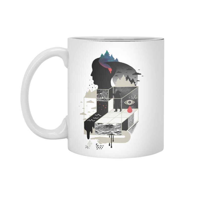 Lucid Screaming Accessories Standard Mug by ordinary fox