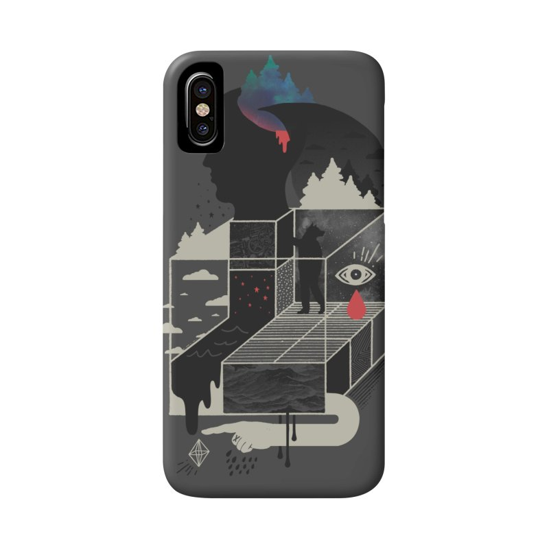 Lucid Screaming Accessories Phone Case by ordinary fox