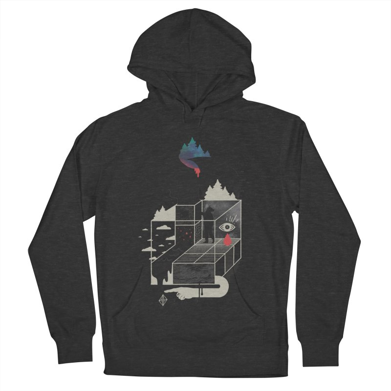 Lucid Screaming Men's French Terry Pullover Hoody by ordinary fox