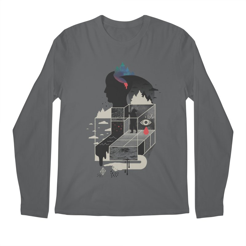 Lucid Screaming Men's Regular Longsleeve T-Shirt by ordinary fox