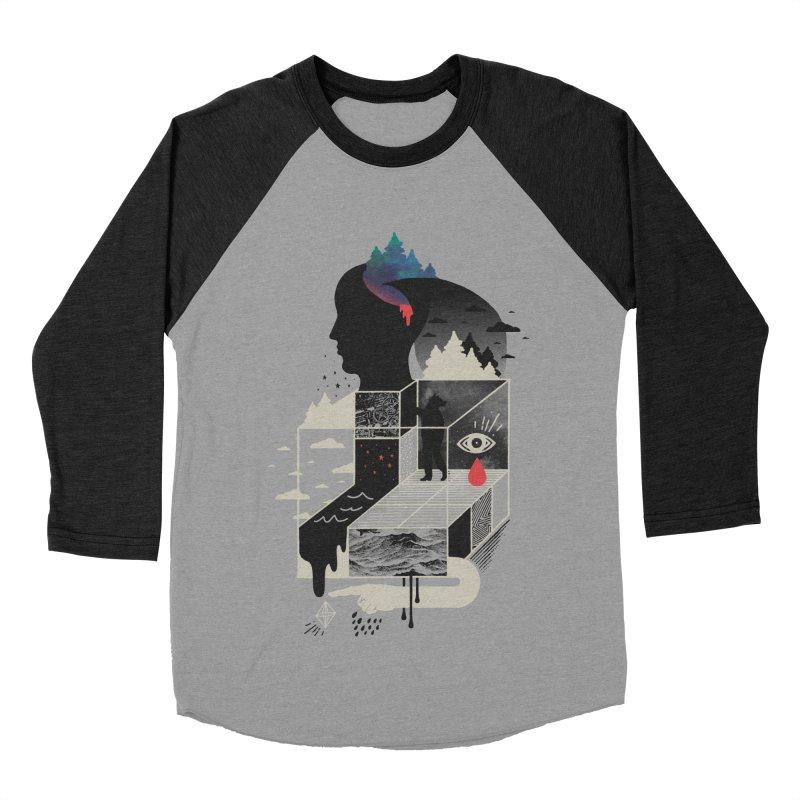 Lucid Screaming Women's Baseball Triblend Longsleeve T-Shirt by ordinary fox