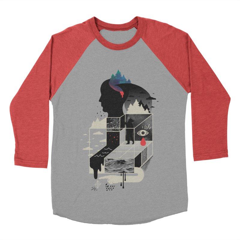 Lucid Screaming Men's Baseball Triblend Longsleeve T-Shirt by ordinary fox