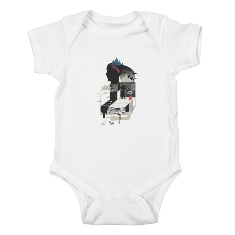 Lucid Screaming Kids Baby Bodysuit by ordinary fox