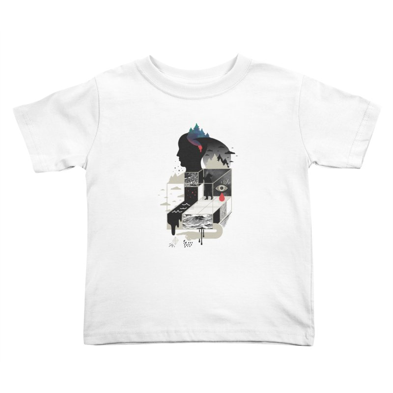 Lucid Screaming Kids Toddler T-Shirt by ordinary fox