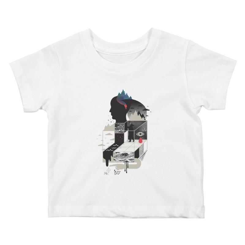 Lucid Screaming Kids Baby T-Shirt by ordinary fox