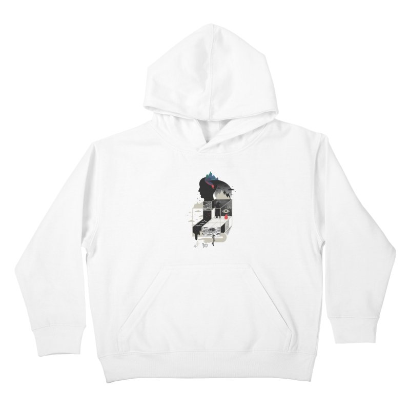 Lucid Screaming Kids Pullover Hoody by ordinary fox