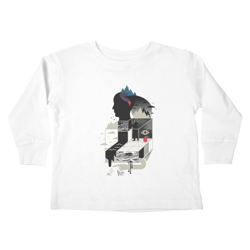 Lucid Screaming Kids Toddler Longsleeve T-Shirt by ordinary fox