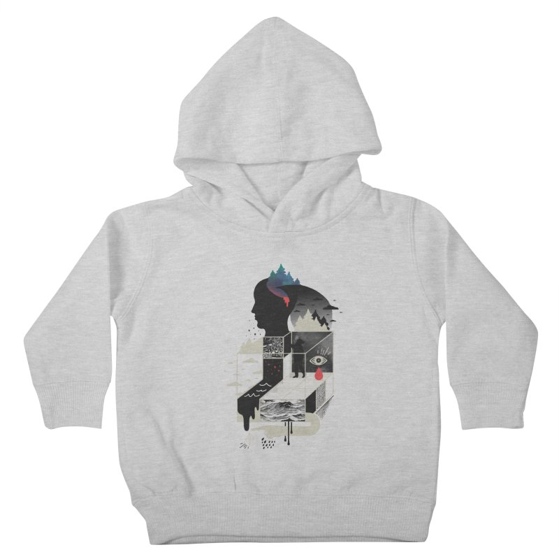 Lucid Screaming Kids Toddler Pullover Hoody by ordinary fox