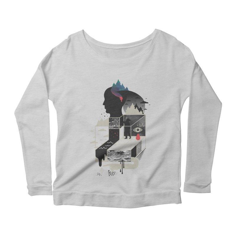 Lucid Screaming Women's Scoop Neck Longsleeve T-Shirt by ordinary fox
