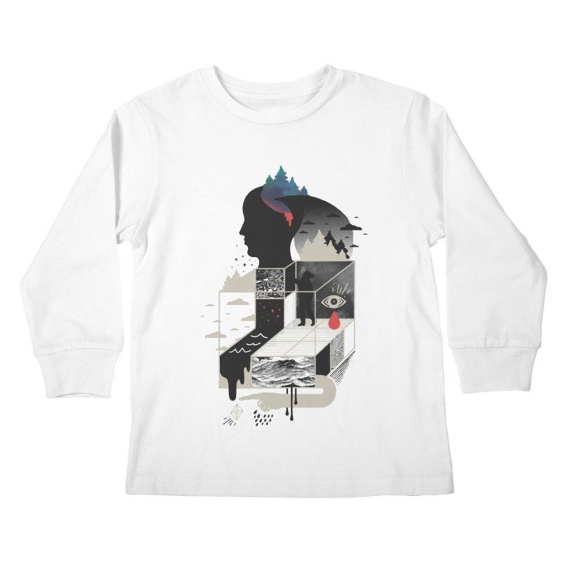 Lucid Screaming Kids Longsleeve T-Shirt by ordinary fox
