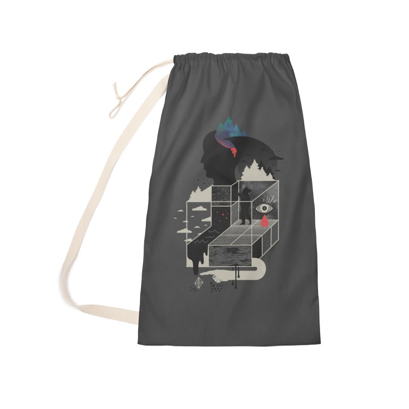 Lucid Screaming Accessories Laundry Bag Bag by ordinary fox