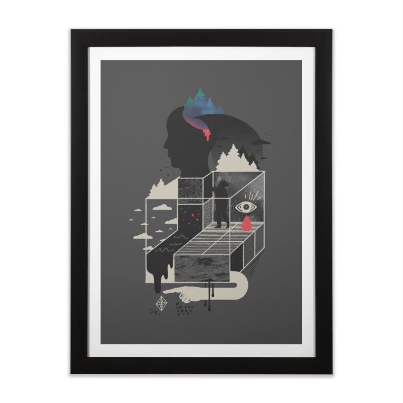 Lucid Screaming Home Framed Fine Art Print by ordinary fox