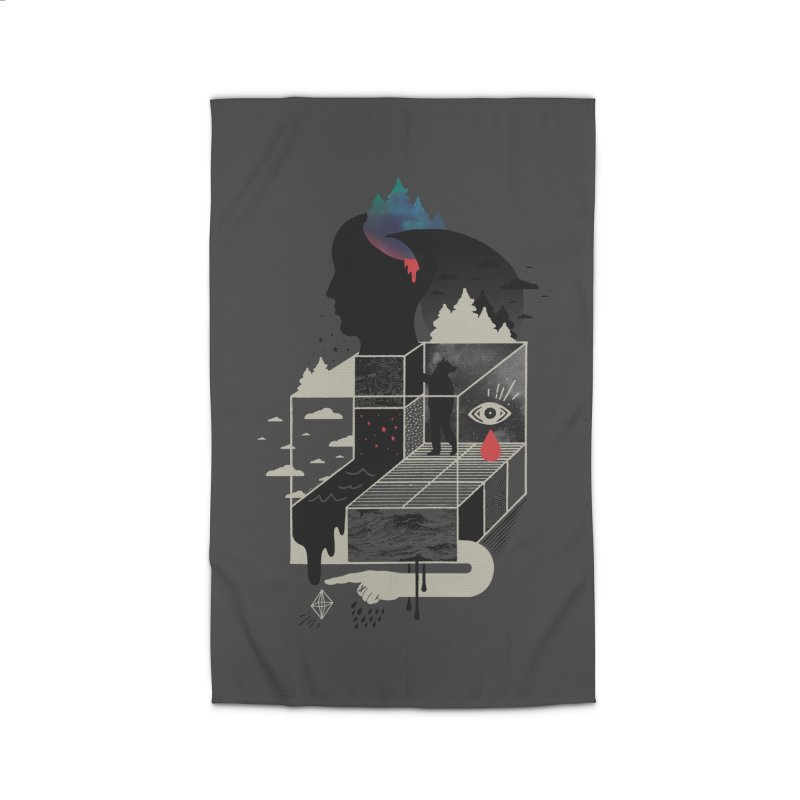 Lucid Screaming Home Rug by ordinary fox