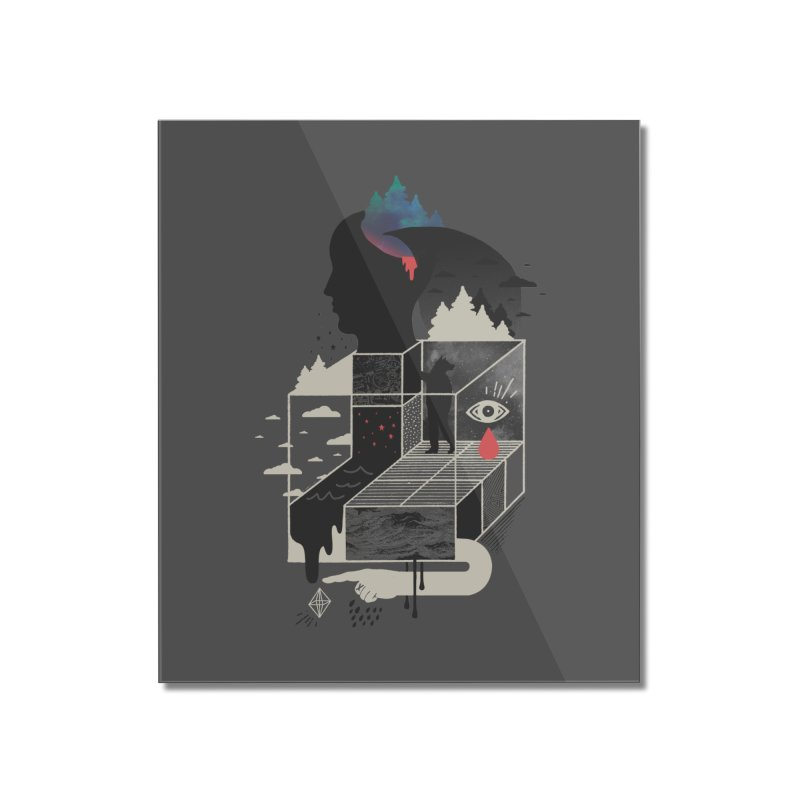 Lucid Screaming Home Mounted Acrylic Print by ordinary fox