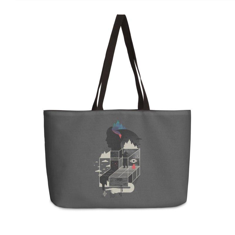 Lucid Screaming Accessories Weekender Bag Bag by ordinary fox