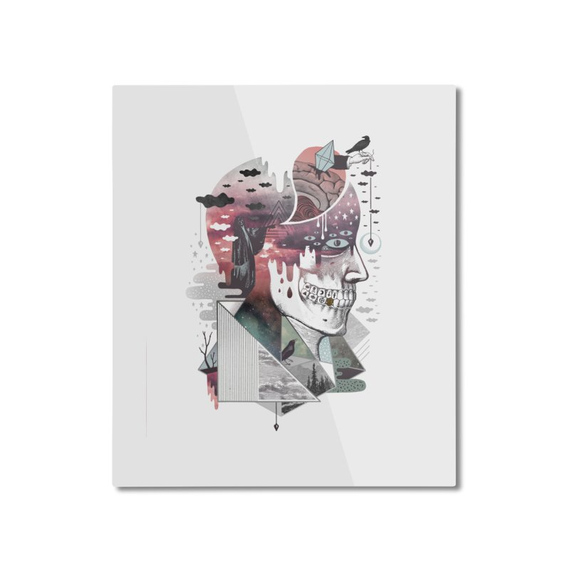 Spectropia Home Mounted Aluminum Print by