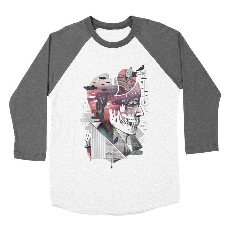 Spectropia Women's Baseball Triblend Longsleeve T-Shirt by ordinary fox