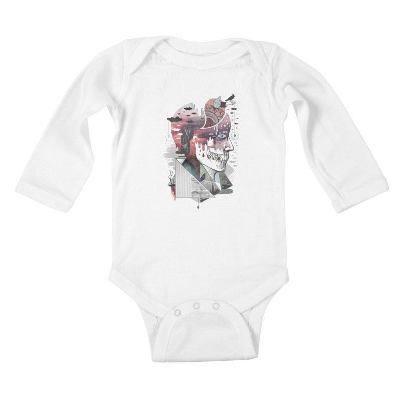 Spectropia Kids Baby Longsleeve Bodysuit by ordinary fox