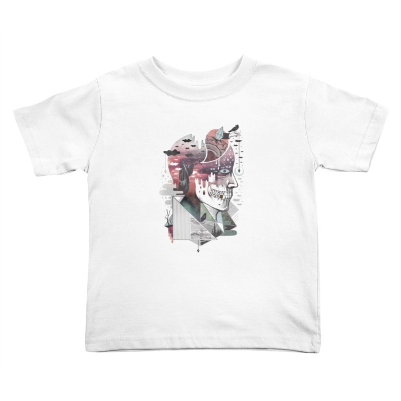 Spectropia Kids Toddler T-Shirt by ordinary fox