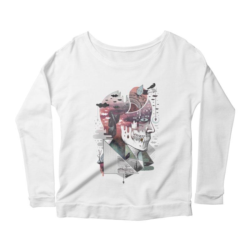 Spectropia Women's Scoop Neck Longsleeve T-Shirt by ordinary fox