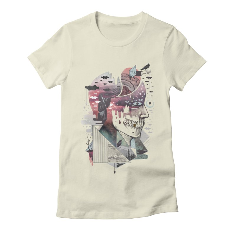 Spectropia Women's Fitted T-Shirt by ordinary fox