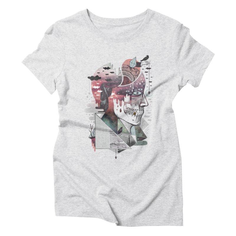 Spectropia Women's Triblend T-Shirt by ordinary fox