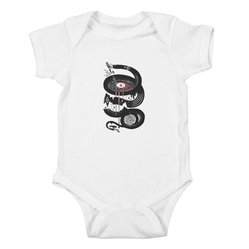 Intervolve Kids Baby Bodysuit by ordinary fox