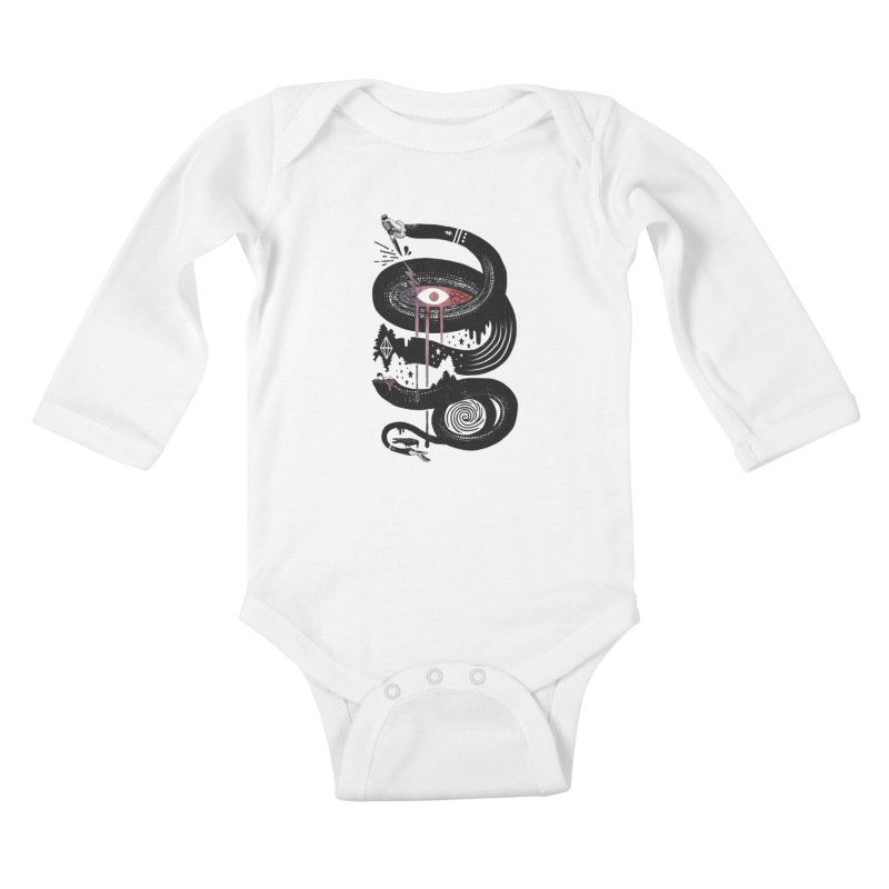 Intervolve Kids Baby Longsleeve Bodysuit by ordinary fox