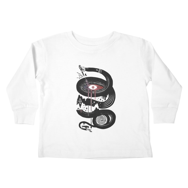Intervolve Kids Toddler Longsleeve T-Shirt by ordinary fox