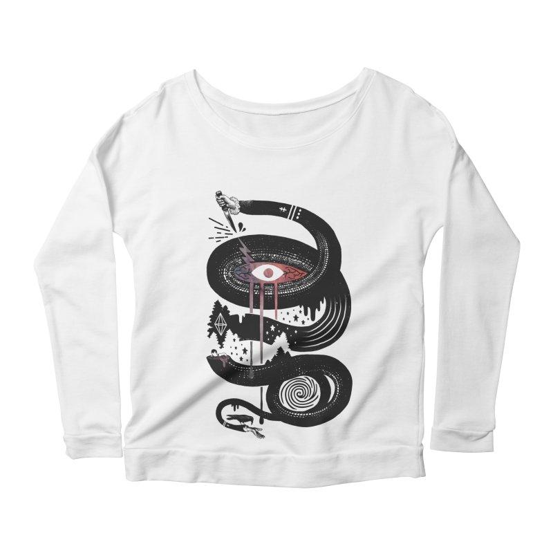 Intervolve Women's Scoop Neck Longsleeve T-Shirt by ordinary fox