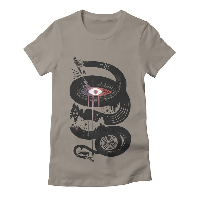 Intervolve Women's Fitted T-Shirt by ordinary fox