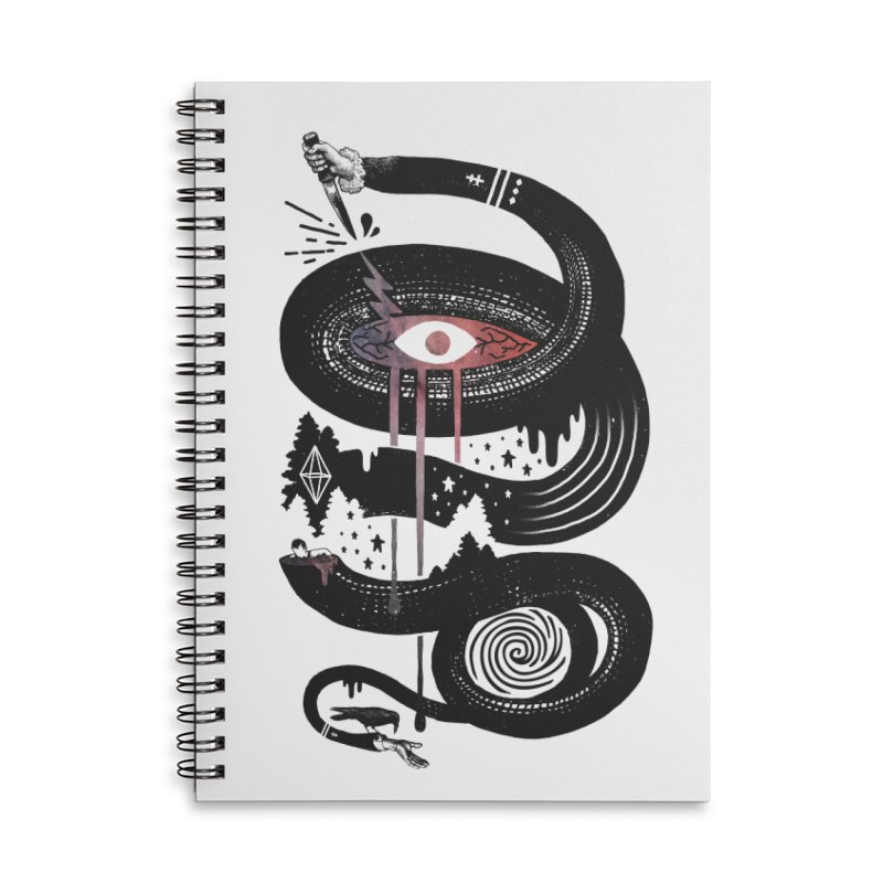 Intervolve Accessories Lined Spiral Notebook by ordinary fox