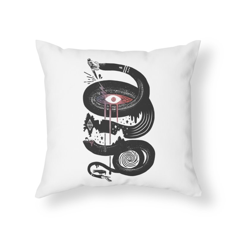 Intervolve Home Throw Pillow by ordinary fox